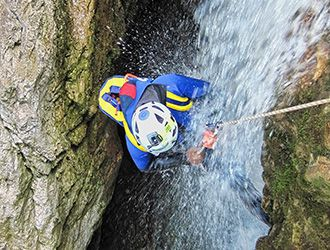 canyoning-discesa